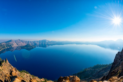 Crater Lake Fish Eye - Crater Lake-8