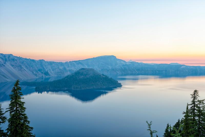 Crater Lake Sunrise - Crater Lake-2