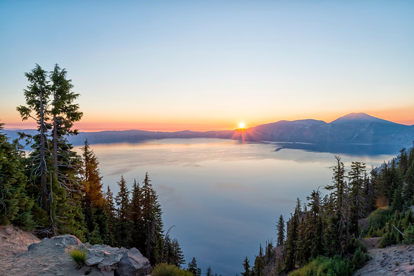 Crater Lake Sunrise - Crater Lake-3