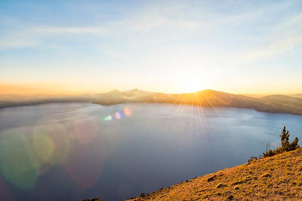 Crater Lake Sunset - Crater Lake