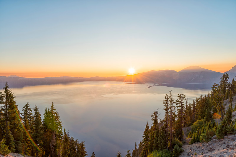 Crater Lake Sunrise - Crater Lake-4