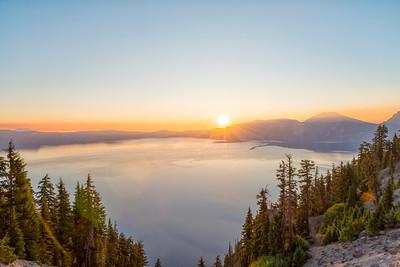Crater Lake Sunrise - Crater Lake-4