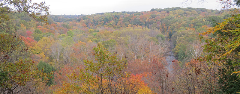 Bedford Reservation - Tinkers Creek Gorge Overlook