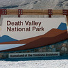 Entering Death Valley National Park...