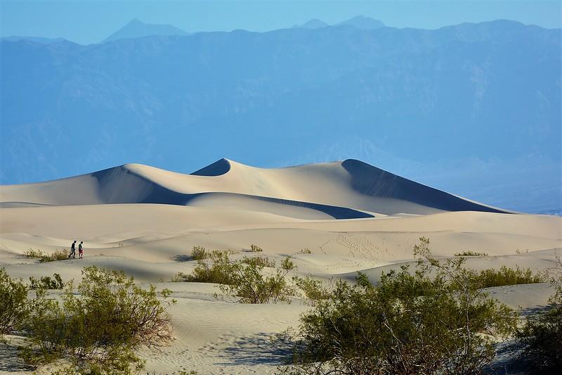 Death Valley Dune Walkers