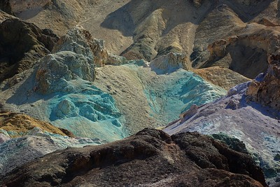 Artist`s Pallette Drive--Death Valley, California
