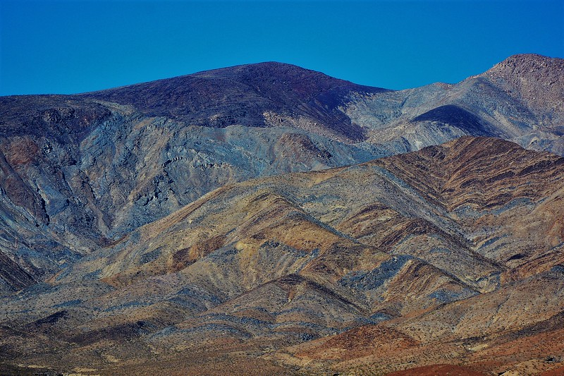 Death Valley Color Spectrum