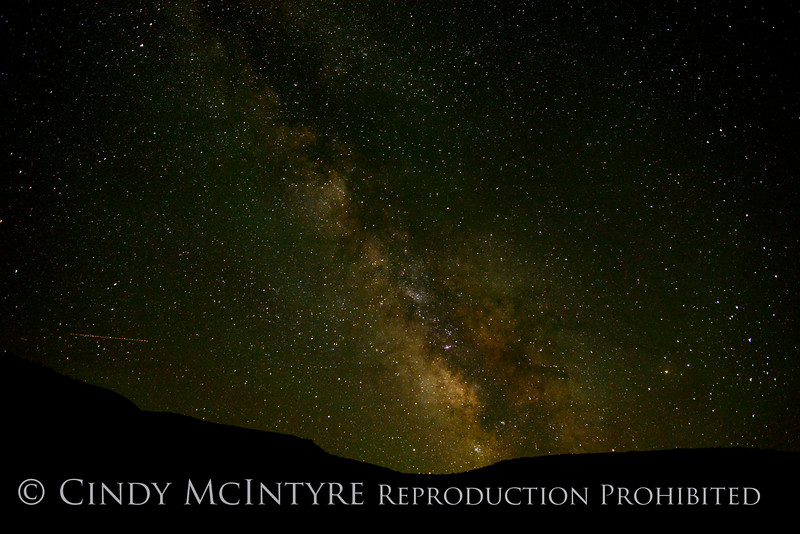 Milky Way, Cub Creek Rd, DINO UT