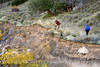 Hikers, Lower Sand Canyon, Echo Park (3)