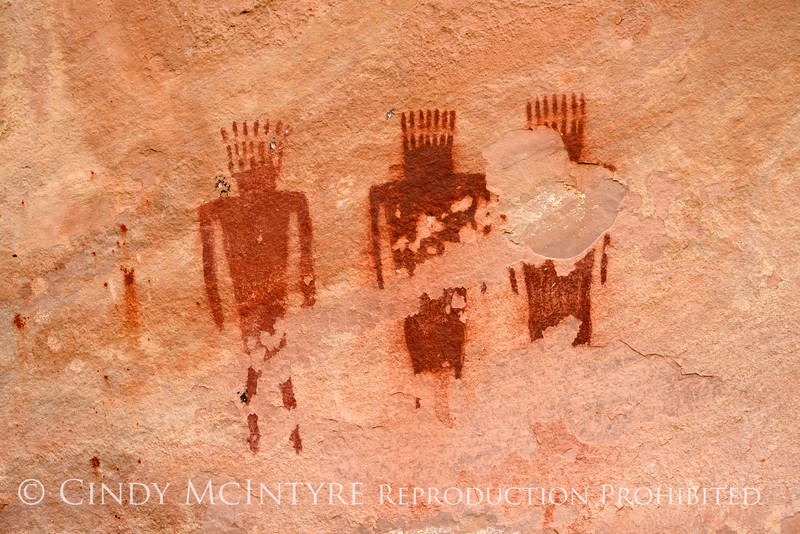 Deluge Shelter Pictographs, Jones Hole, DINO UT (5)