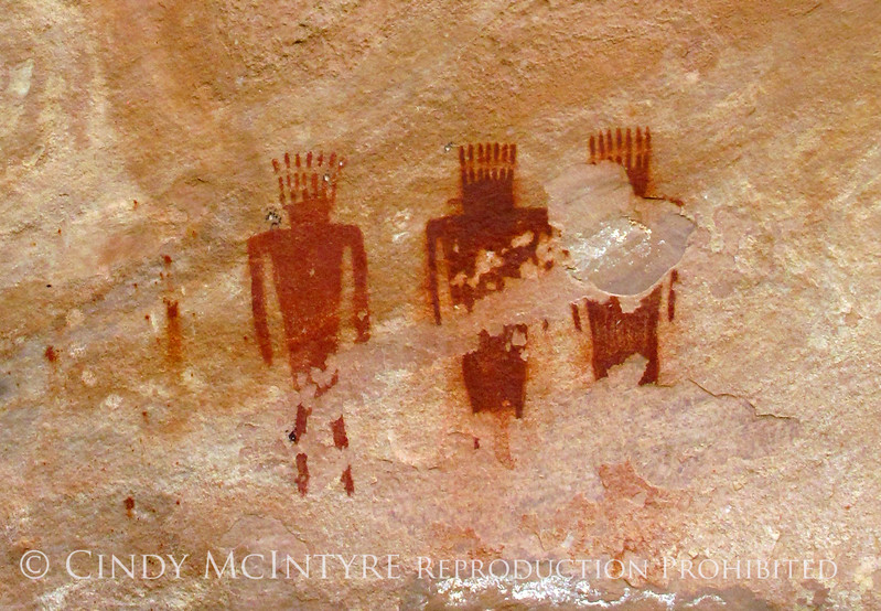 Pictographs, Deluge Shelter, Jones Hole, DINO UT (11) copy