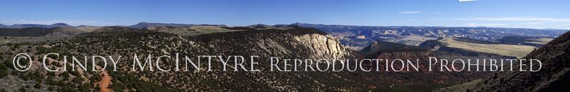 NPS Harpers Corner views