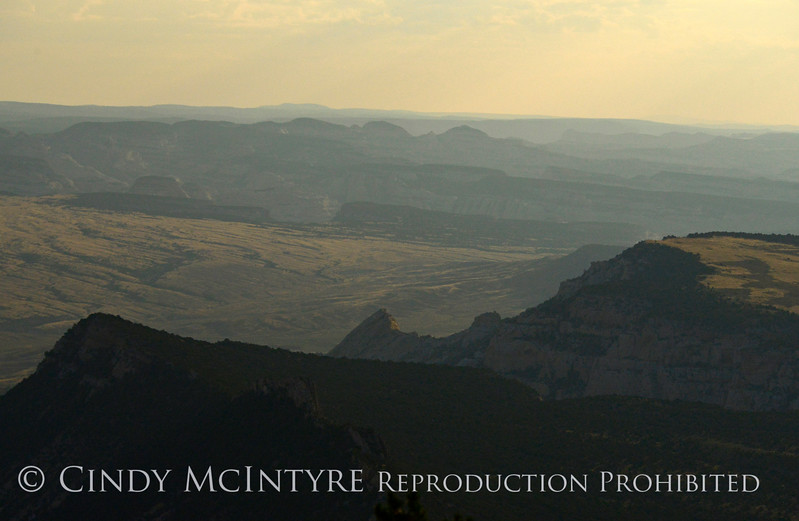 Moonlight at Iron Springs Bench Overlook, DINO CO (2)