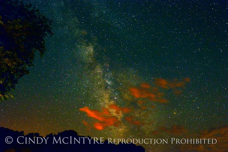 Milky Way-orange clouds, DINO CO
