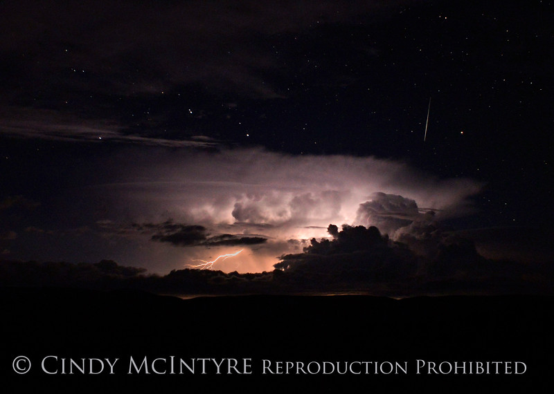Lightning, stars, meteor, DINO CO