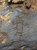 Flat rock petroglyphs, BLM land 3 3 m N of Canyon Overlook (3)