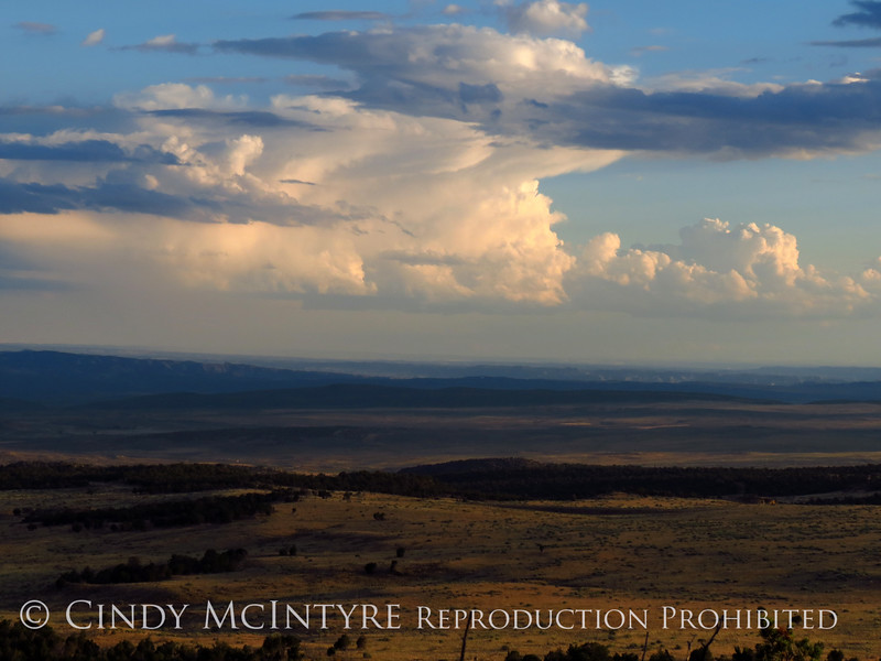 View fm Plug Hat Butte after storm, DINO CO (11)