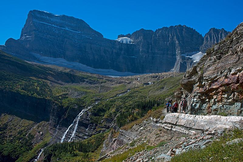 Grinnel glacier hike.