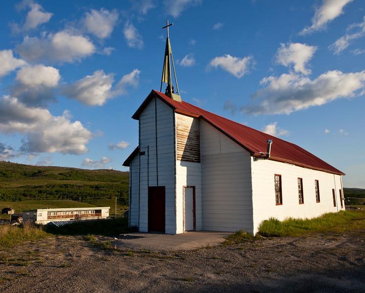 St Mary Church - Babb, Montana