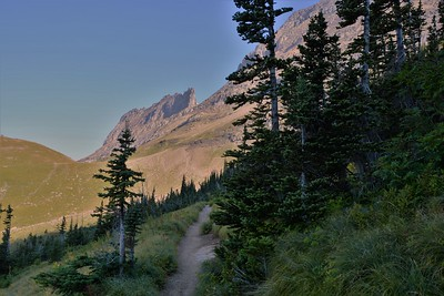 Highline Trail --Montana