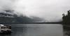 Cloudy day at Lake McDonald