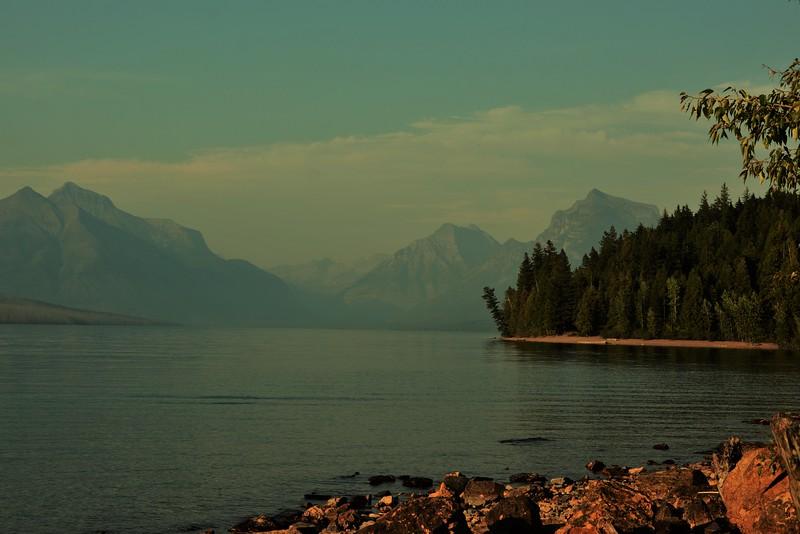 Lake MacDonald Morning