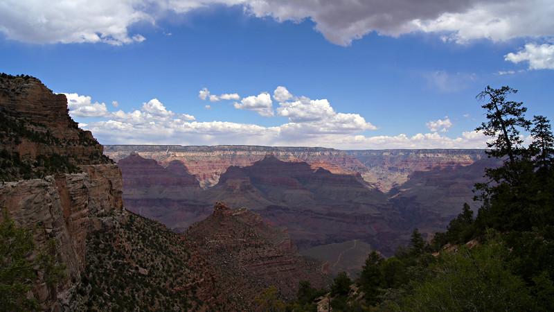 Canyon shadows; Grand Canyon, Arizona.
