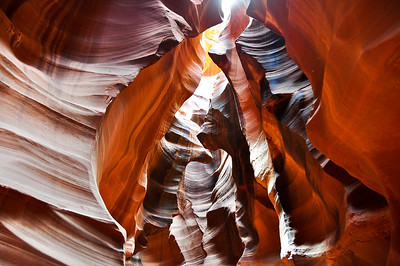 The incredible Antelope Canyon.
