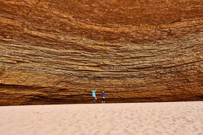 sand-redwall-cavern