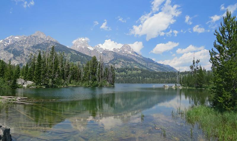 View across Taggart Lake