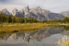 The Tetons at Schwabacher Landing