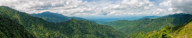 Charlie's Bunion - Great Smokey Mountains National Park - TN - Panorama-3