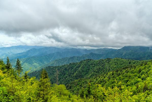 The Boulevard Trail - Great Smokey Mountains National Park - TN-9