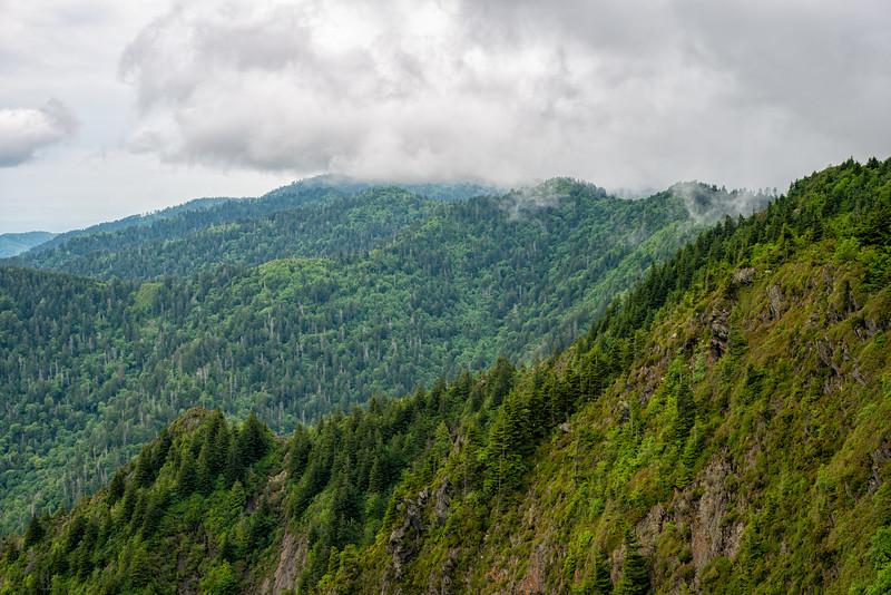 Charlie's Bunion - Great Smokey Mountains National Park - TN-2