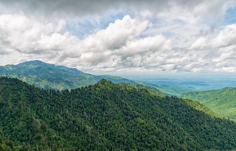 Charlie's Bunion - Great Smokey Mountains National Park - TN-7