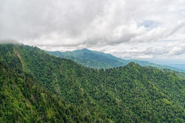 Charlie's Bunion - Great Smokey Mountains National Park - TN-6