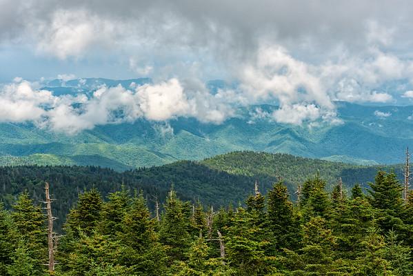 Clingman's Dome - Great Smokey Mountains National Park - TN-2