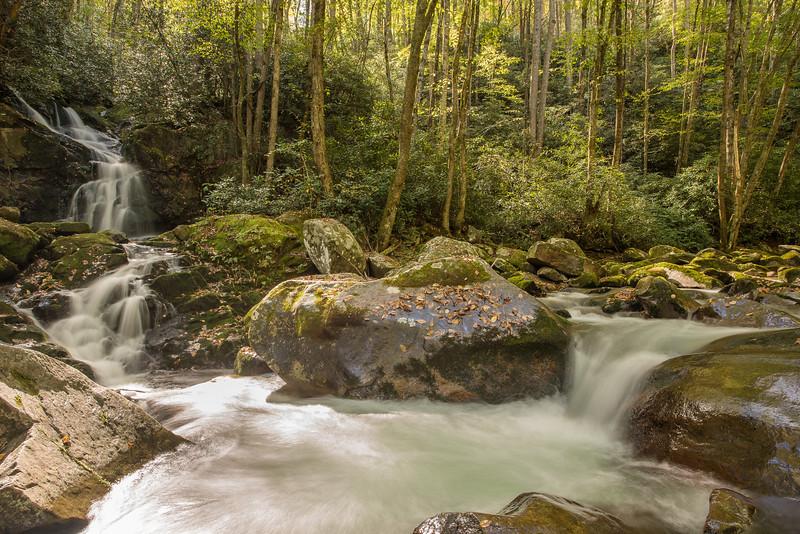 Mouse Creek Falls At Big Creek