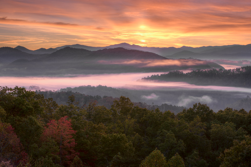 Smoky Mountain Dawn