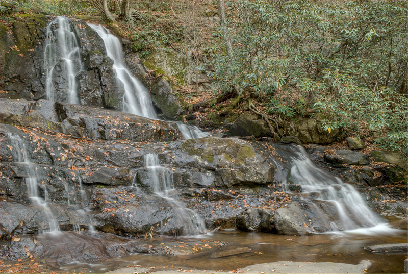 Laurel Falls in Great Smoky National Park