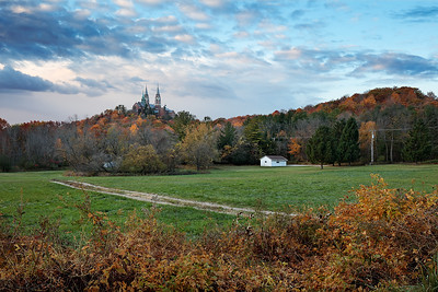 Holy Gold & Blue -  Holy Hill (Hubertus, Wisconsin)