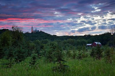 Holy Dusk - Holy Hill (Hubertus, Wisconsin)
