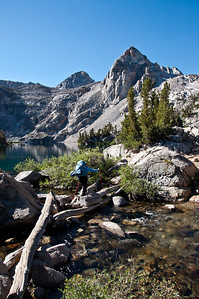 mountain-lake-hiker-creek-crossing-2