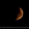 Wildfire moon, Lassen NP CA