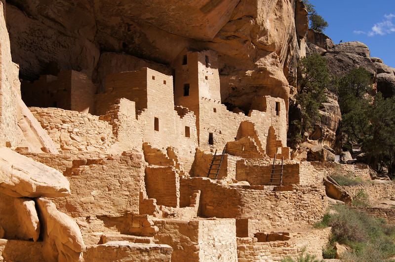 The Cliff Palace, Mesa Verde National Park, Colorado.