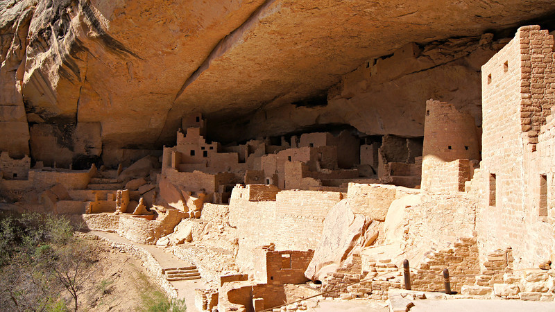 The spectacular Cliff Palace, Mesa Verde National Park, Colorado.
