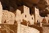Inside the Cliff Palace, Mesa Verde National Park, Colorado.
