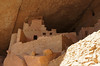 """Towering """"apartments"""" at the north end of Cliff Palace; Mesa Verde National Park, Colorado."""