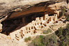 Overlook of the great Cliff Palace, Mesa Verde National Park, Colorado.