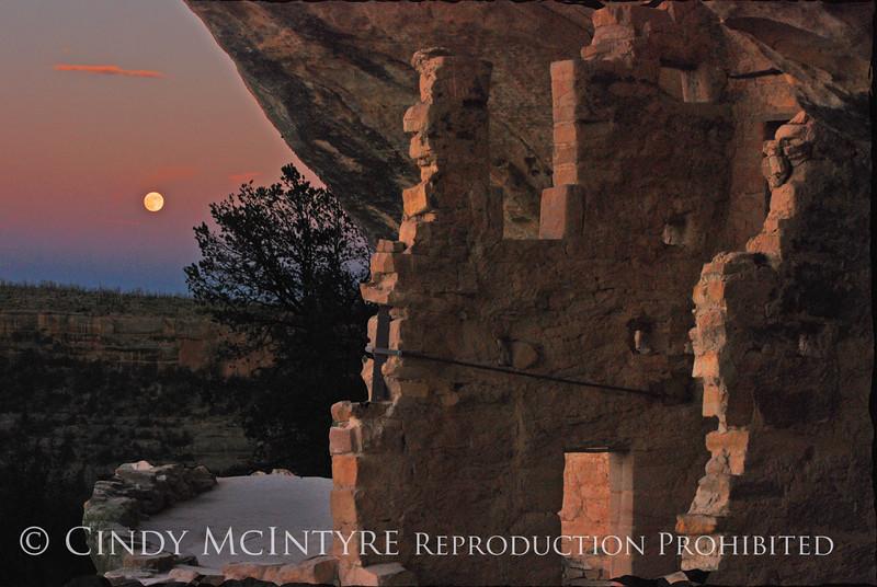 Balcony House Full Moon 7-14-11